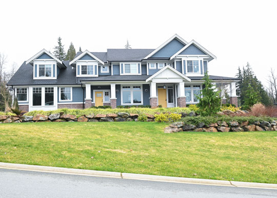 EAST COAST MAPLE RIDGE HOME